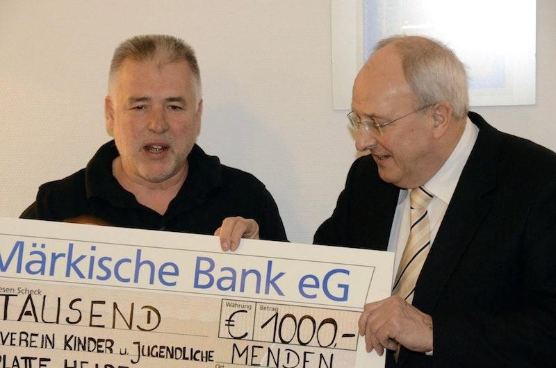 Michael Toups und Dr. Horst-Lothar Müller