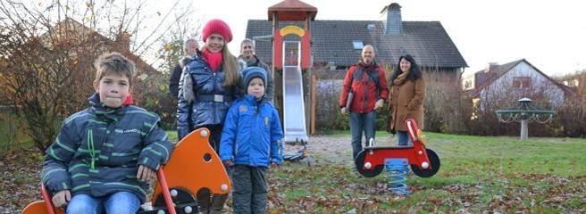 Spielplatz am Hagebuttenweg in Menden eröffnet